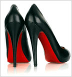 Louboutin red sole shoes