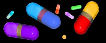 The color of pills