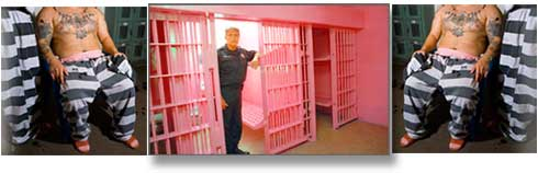 Pink Jail and Prisoners