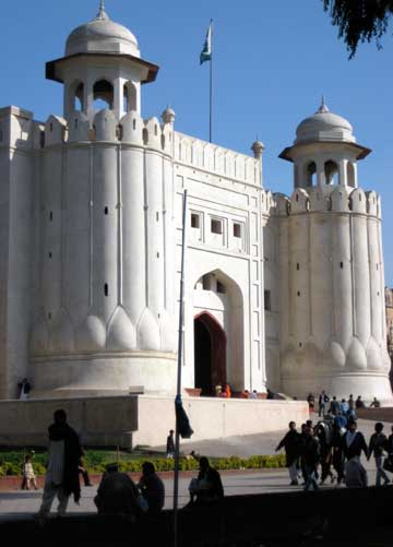 Lahore Fort entry