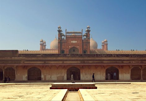 Lahore Fort and the Badshahi Mosque