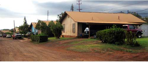 KAUMAKANI PLANTATION HOUSING – KAUAI