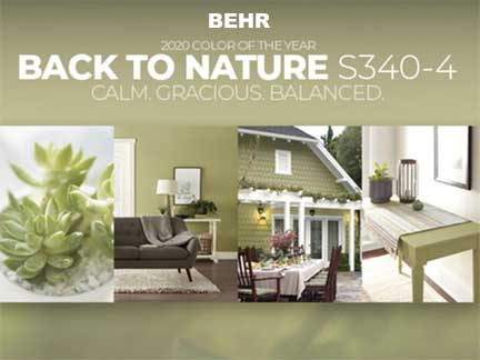 COTY BEHR Back to Nature
