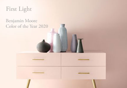 COTY Benjamin Moore First Light