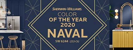 COTY Sherwin Williams Naval