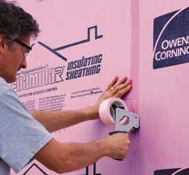 Trademark color example - pink insulation