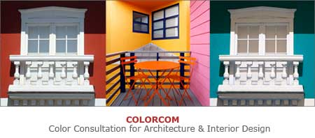 Color consultation for architecture and interior design