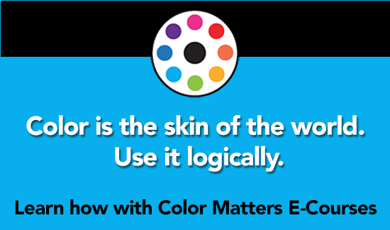 Learn how to use color logically with E-Courses from Color Matters