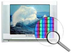 TV pixels