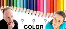 Find the answers to color design questions.
