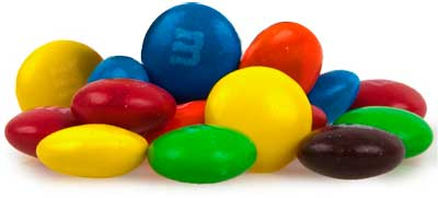 The colors of m&ms